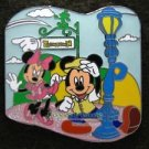 73178 Disney Pin 2009 HKDL - Mickey & Minnie Mouse (Find ways to Toontown)