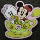 41326 Disney Pin 2006 HKDL Cute Characters - Minnie Mouse & Daisy Duck - Tea Cup
