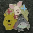 68650 Disney Pin 2009 HKDL - Big Face Pooh & Friends (Pooh, Piglet & Eeyore Only