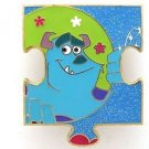 82291 Disney Pin 2010 HKDL Mystery Tin Puzzle Collection - Sulley
