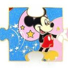 81824 Disney Pin 2010 HKDL Mystery Tin Puzzle Collection - Mickey
