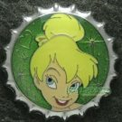 81352 Disney Pin 2010 HKDL Mystery Tin Pin Bottle Cap Collection - Tinker Bell