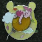 74687 Disney Pin 2009 HKDL - Floating Balloon - Piglet Floating on a Balloon