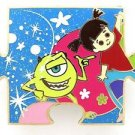 81819 Disney Pin 2010 HKDL Mystery Tin Puzzle Collection - Mike & Boo