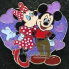64822 Disney Pin 2008 HKDL - Romantic Set - Mickey & Minnie Only