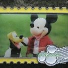 63165 Disney Pin 2008 HKDL - Stamp Collection - Mickey Mouse & Pluto