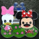 85249 Disney Pin 2010 HKDL - Cuties 4 pin booster set Playtime (Minnie & Daisy)