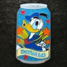66506 Disney Pin 2009 HKDL Mystery Tin Pin Soda Can Collection - Donald