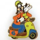 84001 Disney Pin 2011 HKDL Mystery Tin Pin Motorbike Collection - Goofy