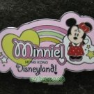 41329 Disney Pin 2005/2006 HKDL Cute Characters - Minnie Mouse Rainbow