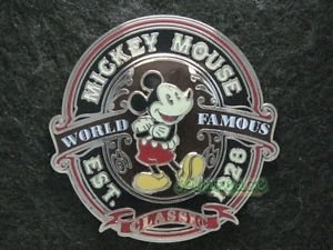 63976 Disney Pin 2009 HKDL - Mickey Mouse - World Famous Classic