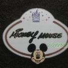 77926 Disney Pin 2010 HKDL Mystery Tin Pin Name Tag Collection - Mickey