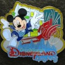 81845 Disney Pin 2009 HKDL - Mickey with Rickshaw