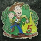 82284 Disney Pin 2011 HKDL 5th Anniversary Mystery Collection - Woody (Toy Story