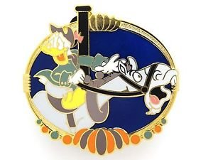 61142 Disney Pin 2008 HKDL Mystery Tin Pin Carousel Collection - Donald