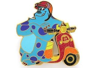 84013 Disney Pin 2011 HKDL Mystery Tin Pin Motorbike Collection - Sulley
