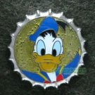 81357 Disney Pin 2010 HKDL Mystery Tin Pin Bottle Cap Collection - Donald