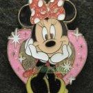 85232 Disney 2011 HKDL - 4 pin booster set Mickey Minnie Donald Goofy (Minnie)