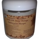 Amla Silk Deep Therapy Restorative Hair Masque 8 oz w/ Bhringraj, Shikakai - Deep Conditioner