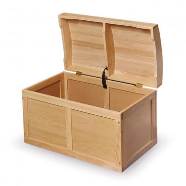 Natural Barrel Top Toy Chest by alextoys