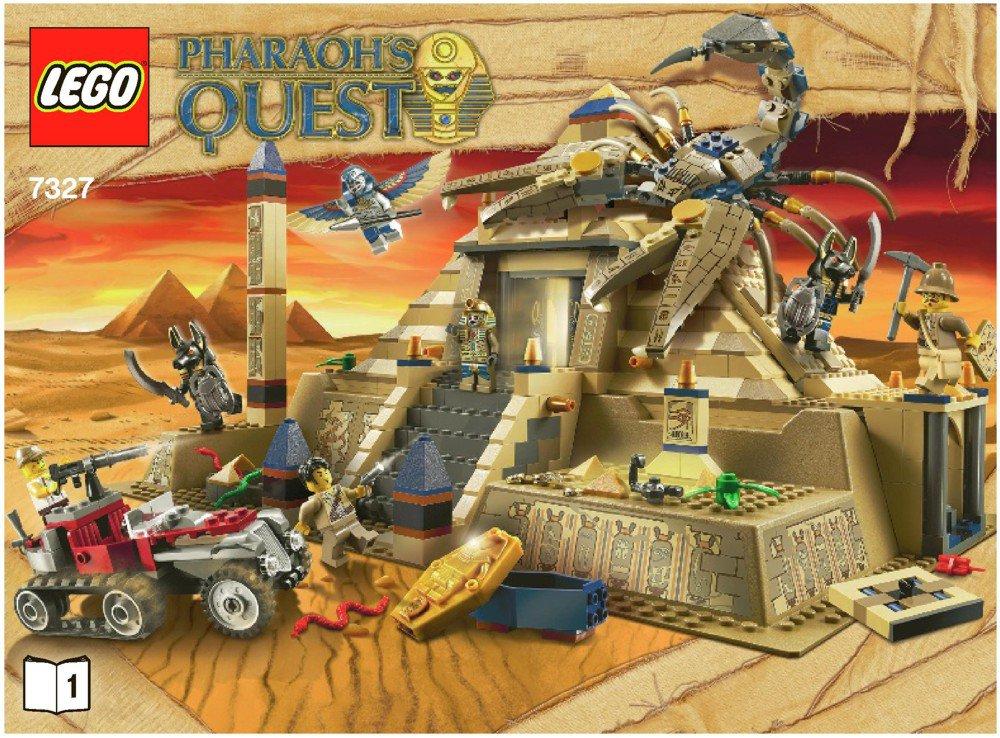 LEGO 7327 Scorpion Pyramid