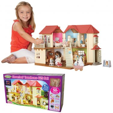 Cloverleaf Townhome Gift Set by Calico Critters by alextoys