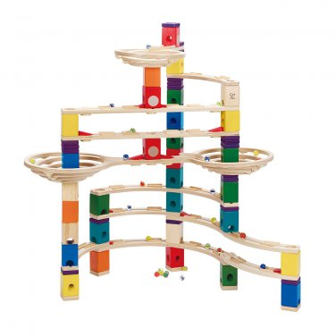 Hape Quadrilla The Challenger Marble Run Toy (E6016) by alextoys