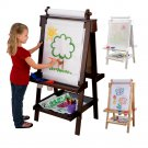 Kidkraft Deluxe Wood Easel White by alextoys