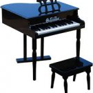 Schoenhut 30 Key Classic Baby Grand Piano black by alextoys