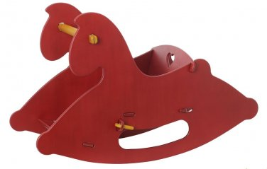 haba MOOVER Rocking Horse Red by alextoys