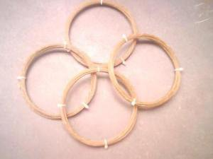 Racket Tennis natural gut string 16g 6.5m X 2-- 5 sets sheep gut string