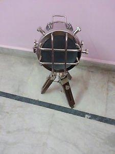 Designer Nautical Royal Tripod Lamp Vintage Spot Studio Marine Floor Lam