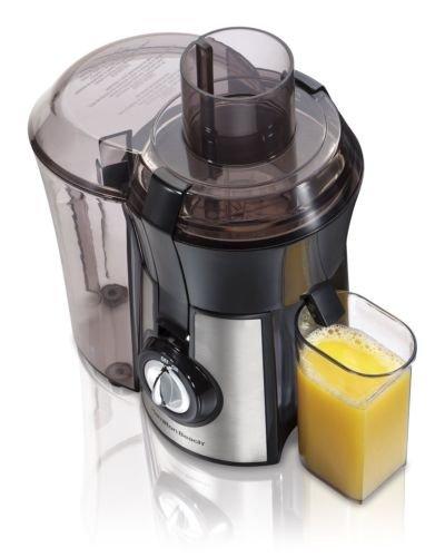 Hamilton Beach 67608 Stainless Steel Big Mouth 800-watt Juice Extractor
