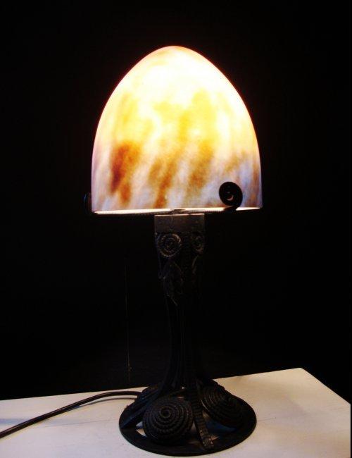 Art Nouveau Table Lamp France