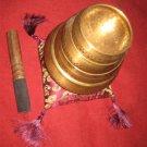 4 set-Tibetan Hand Hammered Singing Bowls for Meditation