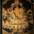 "Manjushree Handpainted Thangka Painting(16""x22"")"