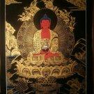 """Amitaba Buddha Handpainted Thangka Painting(16""""x22"""")"""