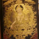 "White Tara Handpainte​d Thangka Painting(19""x29"")"