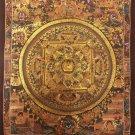 "Mandala Handpainted Thangka Painting(11""x15"")"
