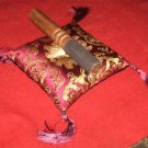 Tibetan Singing Bowl  Cushion Cover With  Striker for meditation