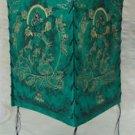 Green Tara Green Natural Lokta Paper  Lamp Shade-I,Nepal