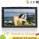 Universal 2 Din Car DVD GPS Android 4.0 Auto DVD Player With 3G WiFi Stereo Radio Bluetooth 3D PIP