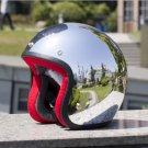 Cafe Racer Open face 3/4 vintage motorcycle helmet vetro jet motorcycling helmets S M L XL XXL SIZE