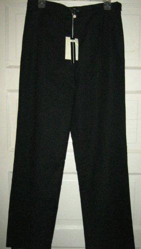Joel & Elliot black stretch cotton pants 10 NWT 31W x 31L fully lined
