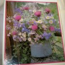 """VTG 1979 Current Wildflower puzzle over 500 pc NIB 15.5""""x 18"""" sealed #2381"""