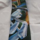 "Ralph Marlin poly golf tie On Course MINT 3.25"" blade"