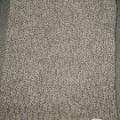 VTG Aris black white cable knit tweed neck scarf