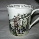 Rosina Queen's Scenes of Old London Circus Statue of Eros bone china cup England