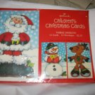 "Hallmark Children's Christmas Cards NOS sealed 12 count 4"" x 6"" USA"