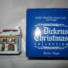 VTG A Dickens Christmas Collection Butcher Shoppe w/box Taiwan handpainted